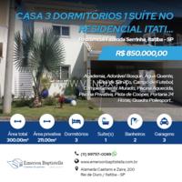 Casa Residencial Itatiba Country Club 3 Dormitórios 1 Suíte, Itatiba SP