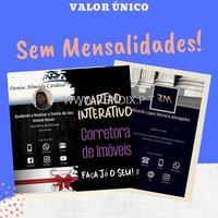 Cartão de Visita Virtual Interativo para Redes Sociais