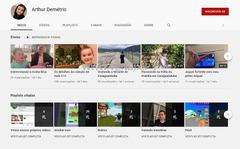 Canal Arthur Demétrio - Jogos, aventuras, colecionismo e passeios
